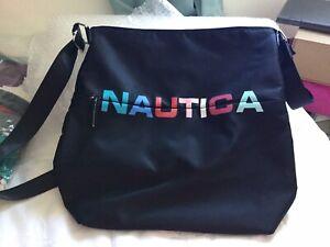 Nautica Black Nylon Bag Used