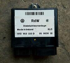 VW Golf MK3.5 Cabrio Alarme Module de contrôle Genuine OEM 1H0 953 233 D