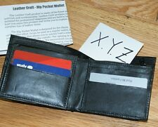 Card to Wallet -hip pocket style, zipper pocket -high quality leather Tmgs