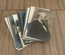 More details for collection 53 antique rp postcards composers musicians breitkopf & hartel unused