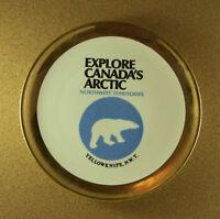 Vintage Souvenir Collector EXPLORE CANADA'S ARCTIC NORTHWEST TERRITORIES Plate