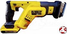 New DeWALT DCS387 20V 20 Volt Compact Reciprocating Saw DCB203 2.0 Ah Battery