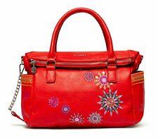 Desigual Ada Loverty Hand Bag Handtasche Umhängetasche Tasche Rojo Rot Grün Neu