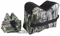 Front & Rear Rifle Air Gun Bench Rest Bag Hunting Target Shooting JXC Camo E1650