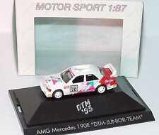1:87 Mercedes-Benz 190E Evo II DTM 1993 Junior équipe Numéro 20 Sandy Gris herpa