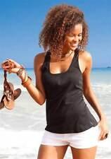 Beach Time DP-Tops, schwarz + weiß  Gr. 40/42 NEU!