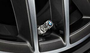 BMW Aluminium Protect TPMS Tyre Valve Caps BMW logo 36122447401