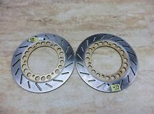 1986 Yamaha Virago XV1100 Y625. front brake rotors discs left right