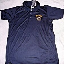 "BOSTON BRUINS EMBROIDERED ""NHL PRODUCTS"" BLACK POLO/GOLF BLACK SHIRT MEN 2XL $55"