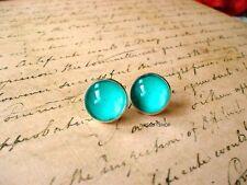 Sky Blue earring stud,Ocean style earrings,gift idea