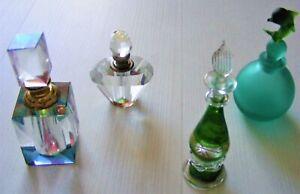 Vintage perfume scent bottles