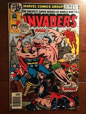 INVADERS # 33 VG/FINE MARVEL COMICS 1978 CAPTAIN AMERICA THOR WORKS FOR HITLER
