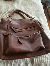 The Leather Store UK Hamptons Satchel Tote