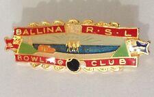 Ballina RSL Bowling Club Badge Pin Vintage Lawn Bowls (L34)