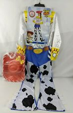 Jessie Costume Women's Medium Toy Story 4 Cowgirl Jumpsuit Hat Bow 122