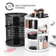 360 Degree Rotating Makeup Cosmetic Rack Holder Organizer Storage Box Desk Shelf