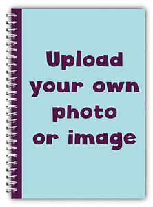 A5 PERSONALISED PLANNER/USE YOUR OWN PHOTO/ A5 PHOTO DIARY 100 PAGE BOOK GIFT
