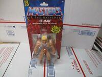 MATTEL MASTERS OF THE UNIVERSE HE-MAN MOTU FIGURE & COMIC BOOK WALMART EXCLUSIVE