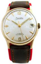Zentra vintage Handaufzug Herren Armband Uhr classic mens gents watch 17Jewels