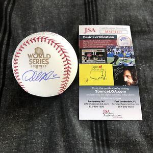 Dallas Keuchel Signed 2017 World Series Baseball Autographed Astros auto JSA COA