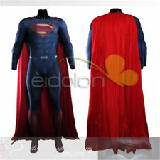 Movie Superman VS Batman Superman Cosplay Jumpsuit Printing Costume Cloak Custom