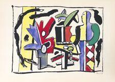 Fernand Leger, L'Artiste dans la Studio, Ltd. Ed. lithograph