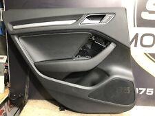Audi A3 8V Passenger Side Left Rear Leather Door Card 8V4867305
