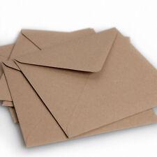 Recycled brown Fleck Kraft Envelopes - C5 / C6 / Square Envelopes