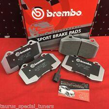 Pastiglie Brembo Sport anteriori Fiat Grande Punto Abarth EVO HP2000 07.B314.21