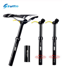 SWTXO Aluminum MTB Road Mountain Bike Hydraulic Seat Post Seatpost 30.9/31.6mm