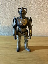 """Dr Who Cyberman Jointed Figure 6"""" tall"""