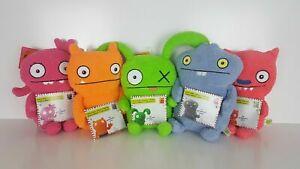 NEW Ugly Dolls Warm Wishes Plush Toys : OX, Lucky Bat, Moxy, Wage & Babo