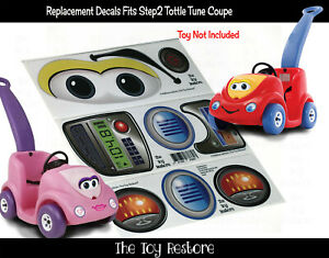 Toy Restore Replacement Stickers fits Step2 Push Around Buggy 10th Ann Decal Boy