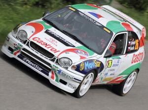 Toyota Corolla rally  1/10 fits tamiya  Yokomo Mr4 hpi kyosho 190mm