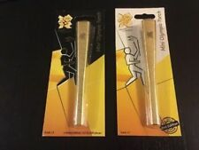 2012 Olympic Games London LONDON 2012 Mini Torch 1st & 2nd Edition Set SCALE 1:5