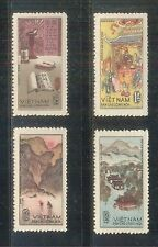 N. 177-Vietnam- Birth bicentenary of great poet Nguyen Du set 4 1965