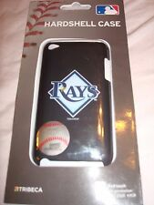 MLB TAMPA BAY RAYS TRIBECA IPOD TOUCH 4TH GEN HARDSHELL CASE NEW