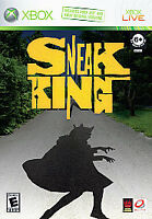 Sneak King (Microsoft Xbox 360, 2006) Free Shipping Complete -Good