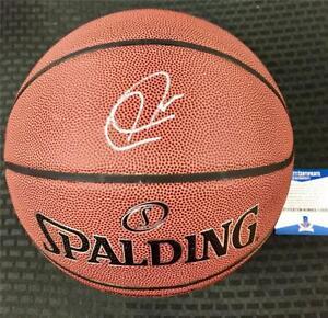 PAUL PIERCE Autograph Signed Spalding NBA Basketball * Beckett BAS COA * Celtics