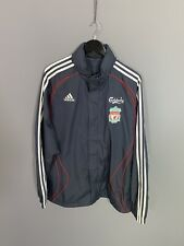 ADIDAS LIVERPOOL FC Windbreaker Jacket - Large - Grey - Great Condition - Men's