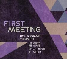 First Meeting: Live in London Vol.1 - Lee Konitz, Michael Janisch, Dan Konitz CD