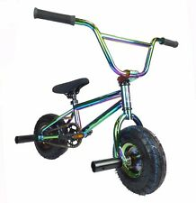 Limited Edition 1080 Kids Freestyle Jet Fuel Stunt Neo Chrome Mini BMX Bike