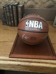 Kobe Bryant Lakers Signed 2009-2010 Spalding Team Basketball All Conference