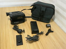 Sony CCD-TR55E 8mm Video8 Handycam Video Camcorder Bundle With Sony Case