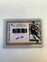 2019-20 Panini Contenders Draft Jaylen Hoard Rc Ticket Auto #93 Wake Forest