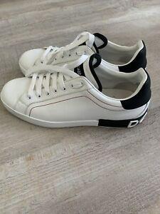 """Dolce Gabbana Herren Sneaker """"Portofino"""" Gr. 11 (EU 44)"""