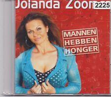 Jolanda Zoomer-Mannen Hebben Honger promo cd single