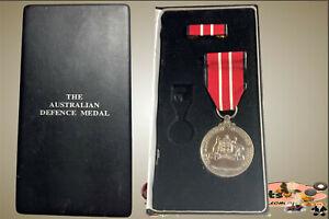 Australian Defence Medal (A.D.M.) Full Size Original Medal with Ribbon Bar....