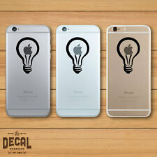 Light Bulb iPhone Sticker / iPhone Decal / Cover / Skin
