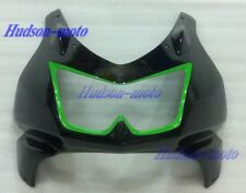 Front Nose Cowl Upper Fairing For Kawasaki Ninja 250R 2008-2012 EX250 Black/gree
